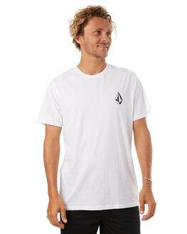 WHITE MENS CLOTHING VOLCOM TEES - A5041772WHT