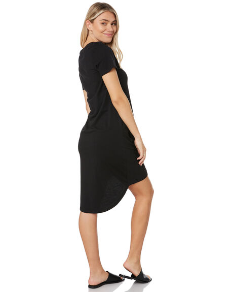 BLACK WOMENS CLOTHING SILENT THEORY DRESSES - 6008016BLK