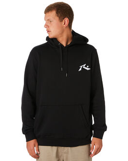 BLACK MENS CLOTHING RUSTY JUMPERS - FTM0747BLK