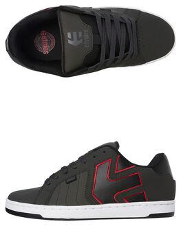 DARK GREY MENS FOOTWEAR ETNIES SNEAKERS - 4101000467025