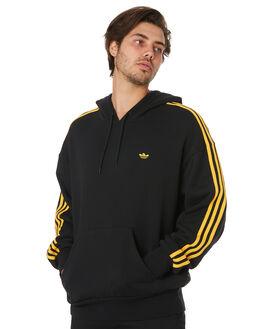 BLACK ACTIVE GOLD MENS CLOTHING ADIDAS JUMPERS - EC7325BKGLD