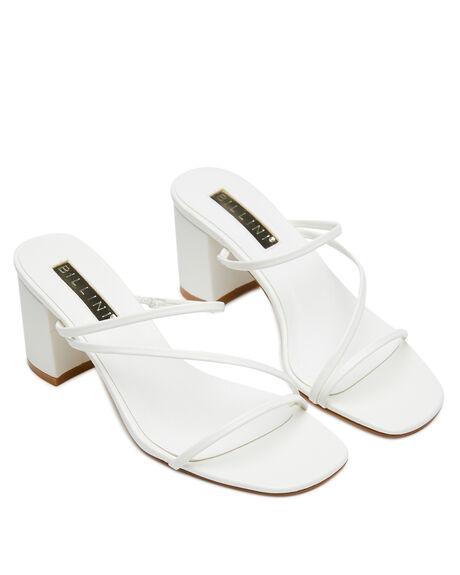 WHITE WOMENS FOOTWEAR BILLINI HEELS - H1279WHT