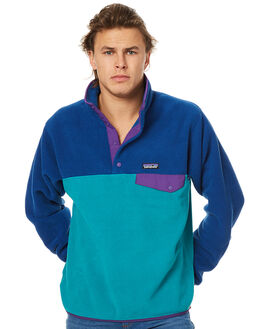 TRUE TEAL MENS CLOTHING PATAGONIA JUMPERS - 25580TRU