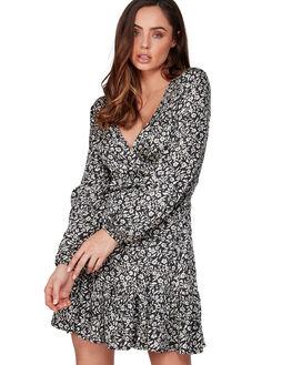 OFF BLACK WOMENS CLOTHING BILLABONG DRESSES - BB-6507482-OFB
