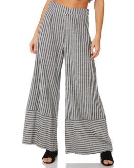 BLACK & WHITE WOMENS CLOTHING TIGERLILY PANTS - T391371BNW