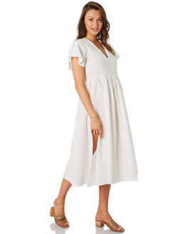 WHITE WOMENS CLOTHING RUE STIIC DRESSES - RWS-19-49-1WHT