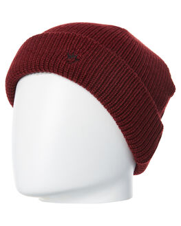 MAROON MENS ACCESSORIES AFENDS HEADWEAR - A182601MAR