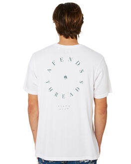 WHITE MENS CLOTHING AFENDS TEES - M191004WHT