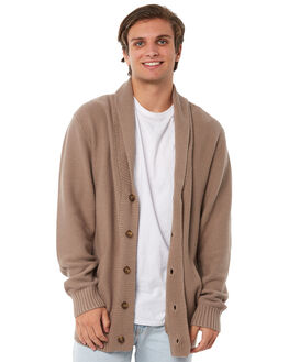 TOBACCO MENS CLOTHING BARNEY COOLS KNITS + CARDIGANS - 418-CR1TBCO
