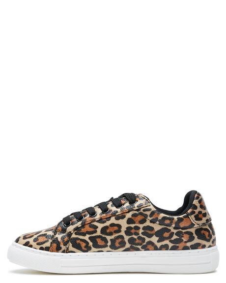 LEOPARD WOMENS FOOTWEAR BETTY BASICS SNEAKERS - BB936W20LEOP