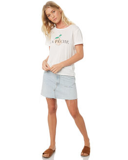 OFF WHITE WOMENS CLOTHING MINKPINK TEES - MP1808001WHI