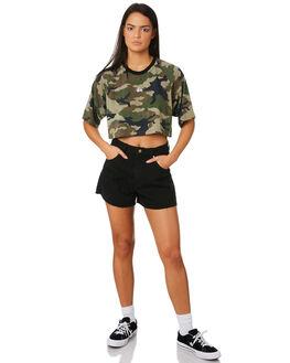 CAMO WOMENS CLOTHING STUSSY TEES - ST182219CAMO