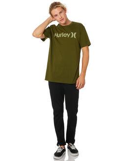 LEGION GREEN MENS CLOTHING HURLEY TEES - 892205331