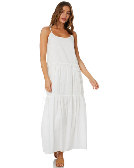 WHITE WOMENS CLOTHING ZULU AND ZEPHYR DRESSES - ZZ3374WHT