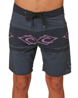 BLACK MENS CLOTHING RIP CURL BOARDSHORTS - CBOVB10090