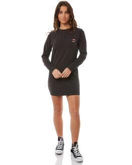 OFF BLACK WOMENS CLOTHING BILLABONG DRESSES - 6585483OBLK