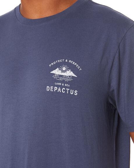 GRAPHITE MENS CLOTHING DEPACTUS TEES - D5202002GRAPH