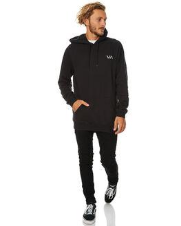 BLACK MENS CLOTHING RVCA JUMPERS - R174156BLK