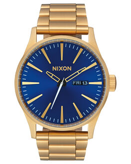 ALL GOLD BLUE SUNRAY UNISEX ADULTS NIXON WATCHES - A3562735