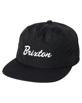 BLACK MENS ACCESSORIES BRIXTON HEADWEAR - 00920BLK