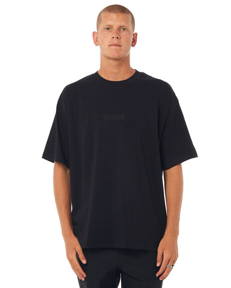 BLACK MENS CLOTHING ZANEROBE TEES - 137-TDKBLK