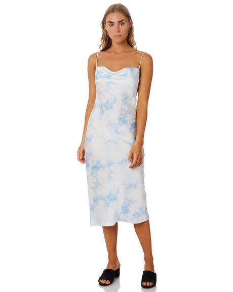 BLUE TIE DYE OUTLET WOMENS THE FIFTH LABEL DRESSES - 402001132-7BTD