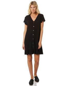 BLACK WOMENS CLOTHING SWELL DRESSES - S8188446BLACK