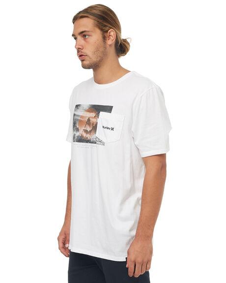 WHITE MENS CLOTHING HURLEY TEES - AA5337100
