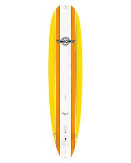 YELLOW BOARDSPORTS SURF WALDEN SURFBOARDS LONGBOARD - WD-MMX2-0806-YEL