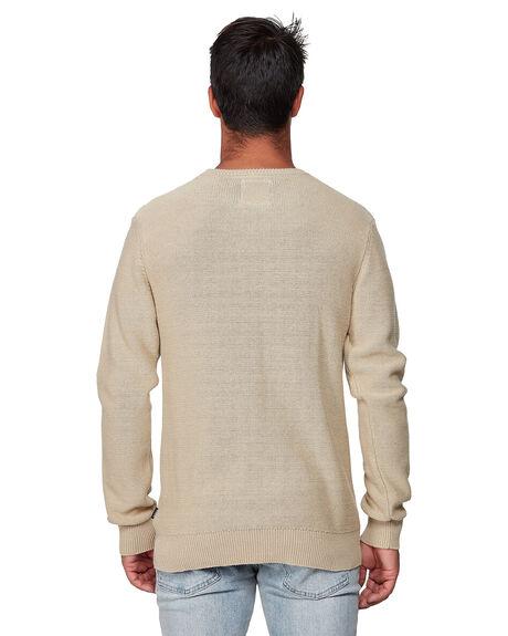 DUST YELLOW MENS CLOTHING RVCA KNITS + CARDIGANS - RV-R193701-DYL