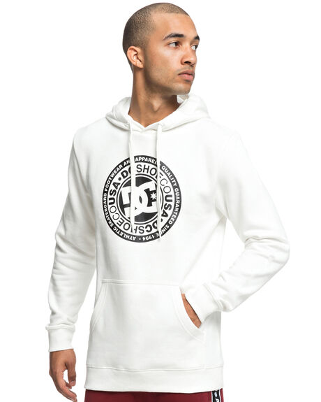 SNOW WHITE MENS CLOTHING DC SHOES JUMPERS - EDYSF03166WBB0