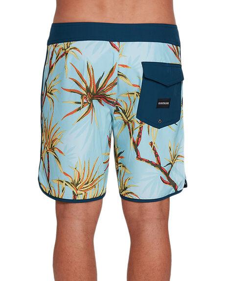 AIRY BLUE MENS CLOTHING QUIKSILVER BOARDSHORTS - EQYBS04399-BFA6