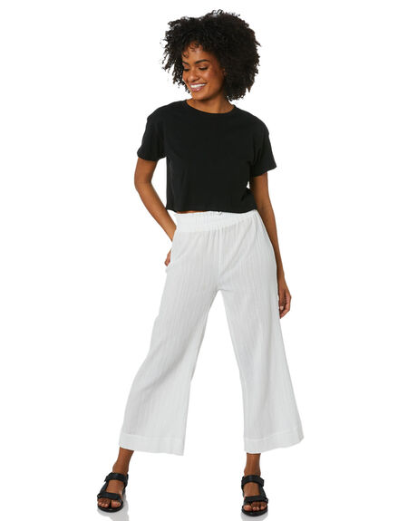 WHITE WOMENS CLOTHING SWELL PANTS - S8212191WHITE