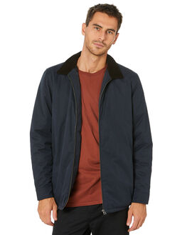 JET INK MENS CLOTHING GLOBE JACKETS - GB02037005JETINK