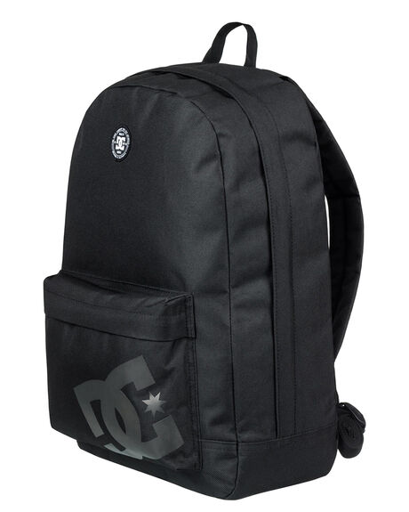 BLACK MENS ACCESSORIES DC SHOES BAGS + BACKPACKS - EDYBP03159KVJ0