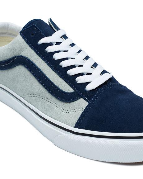 DRESS BLUES  GRAY MENS FOOTWEAR VANS SNEAKERS - VNA3WKT4OVBLU