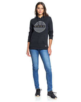 ANTHRACITE WOMENS CLOTHING ROXY JUMPERS - ERJFT04180-KVJ0