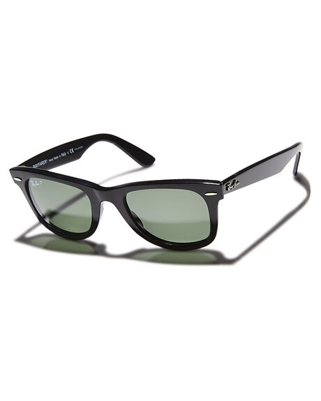 BLACK POLARIZED MENS ACCESSORIES RAY-BAN SUNGLASSES - 0RB21405090158