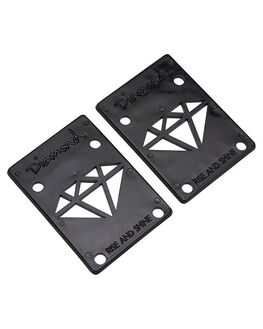 BLACK SKATE ACCESSORIES DIAMOND SUPPLY CO  - 016001116BLK