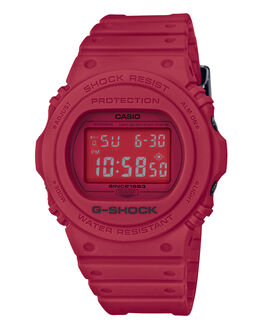 RED MENS ACCESSORIES G SHOCK WATCHES - DW5735C-4DRED