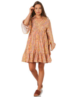 PINK WOMENS CLOTHING TIGERLILY DRESSES - T392404PINK
