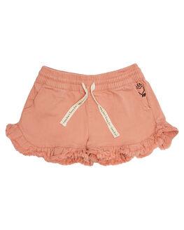 WASHED ROSE KIDS TODDLER GIRLS MUNSTER KIDS SHORTS + SKIRTS - MM182WS04-ROSE