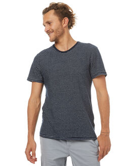 INDIGO STRIPE MENS CLOTHING OUTERKNOWN TEES - 1210037IOS
