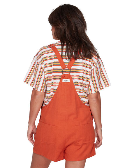 RUST WOMENS CLOTHING ELEMENT PLAYSUITS + OVERALLS - EL-207872-RST