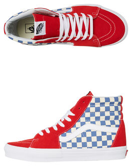 TRUE BLUE RED MENS FOOTWEAR VANS SNEAKERS - VNA38GEU8HRED