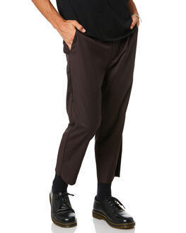 BROWN MENS CLOTHING THRILLS PANTS - TW20-404CBRN