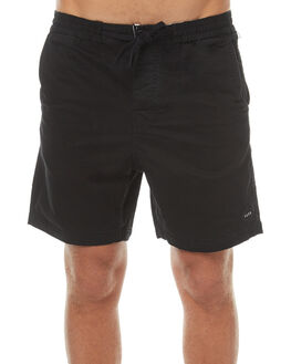 BLACK MENS CLOTHING THE CRITICAL SLIDE SOCIETY SHORTS - SWW1601BLK