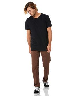 VINTAGE BROWN MENS CLOTHING VOLCOM PANTS - A1111703VBN