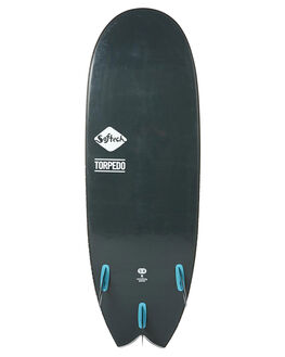 BLACK BLUE SURF SOFTBOARDS SOFTECH FUNBOARD - STTP-BLB-054BLKBL