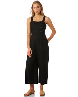 BLACK WOMENS CLOTHING SWELL PLAYSUITS + OVERALLS - S8182451BLK